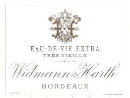 --- Eau De Vie Extra Très Vieikke Wildmann Et Hearth - BORDEAUX  1900/1920 - Whisky