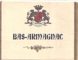 BAS ARMAGNAC  étiquette Générique - - Whisky