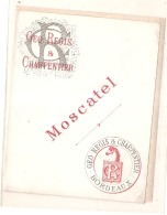 Moscatel Geo Regis 1890/1920 - Whisky