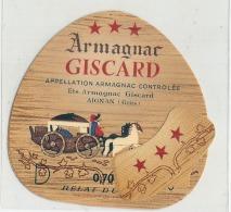 ARMAGNAC GISCARD - - Whisky