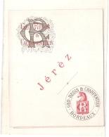 JEREZ  Geo Regis 1890/1920 - Vino Blanco