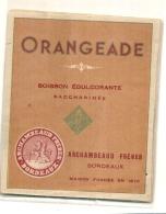 Orangeade ARCHAMBEAU  Frères BORDEAUX - - Other