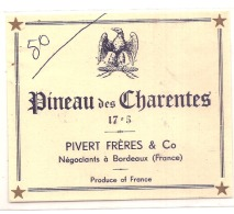Pinault PIVERT Charente Négociantsd Bordeaux - Blancs
