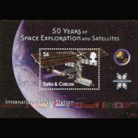 TURKS & CAICOS 2008 - Scott# 1491 S/S Space MNH - Turks & Caicos (I. Turques Et Caïques)
