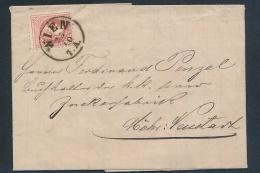 Österreich-Klassik -Stempel /  Alter Beleg ( T3651 ) Siehe Scan - 1850-1918 Imperium