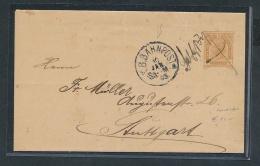 Österreich-Klassik -Stempel /  Alter Beleg ( T3708 ) Siehe Scan - 1850-1918 Empire