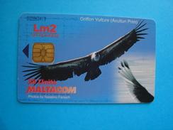 MALTA  USED CARDS  BIRDS BIRD EAGLE - Malta