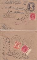 India 1940's  KG VI Franked  KARGIl  ( Ladakh ) Registered Cover To Amritsar   #  95314    Inde Indien - India (...-1947)