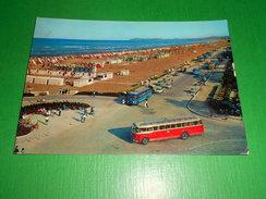 Cartolina Rimini - Lungomare E Spiaggia - 1963. - Rimini