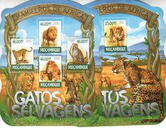 Mosambik Mocambique Mozambique 2015 2015 Säugetiere Afrikas Lions.Animals.Fauna M/S +S/S - Mozambique