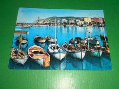 Cartolina Cattolica - Il Porto Verso Gabicce Mare 1963 - Rimini