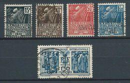 FRANCE 1930 . Série N°s 270 à 274  Oblitérés . - Used Stamps