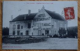 21 : Les Laumes - L'Hôtel Berthelon - Hôtel Des Voyageurs - Café Tabac Restaurant - Animée : Petite Animation - (n°8322) - France