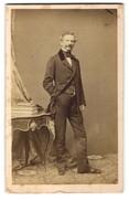 Fotografie L. Angerer, Wien, Portrait Josef Scholl Im Stehen - Persone Anonimi