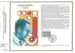 1987 BERNARD HALPERN IMMUNOLOGIE DOCUMENT OFFSET - Medizin