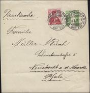 Schweiz Streifband S 26 Tellknabe, ROMANSHORN 12.10.1912 Nach Neustadt/Pfalz - Switzerland