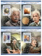 DJIBOUTI 2016 ** Albert Einstein Theory Of  Relativity 4S/S - IMPERFORATED - DH1726 - Albert Einstein