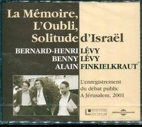 Cd  Coffret 2 Cd Neuf Sous Blister Henri Levy & Finkielkrault  La Memoire  L'oubli Solitude D'israel - Audio Books