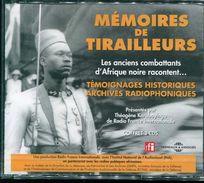 Cd  Coffret 3 Cd Neuf Sous Blister Memoires De Tirailleurs Les Anciens Combattant D'afrique Noire Racontent - Audio Books