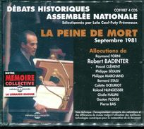Cd  Coffret 4 Cd Neuf Sous Blister Dabats Historiques A L'assemblee Nationale La Peine De Mort Allocutions  Badinter Etc - Autres Livres Parlés