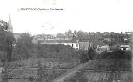 [DC10536] CPA - FRANCIA - CHANTONNAY (VENDEE) - VUE GENERALE - Viaggiata - Old Postcard - Chantonnay