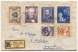 AUSTRIA - WIEN, REGISTERED COVER / 1955. - FDC