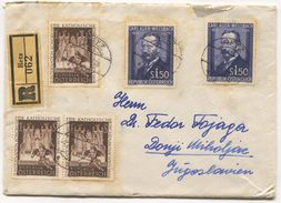 AUSTRIA - RETZ, REGISTERED COVER / 1954. - 1945-.... 2ª República