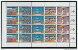 Greece 1988 Olympic Games Seoul South Korea Sheet MNH - Ete 1988: Séoul