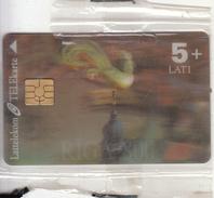 LATVIA - Riga 800, Lattelekom 3D Telecard, Tirage 80000, Exp.date 01/03, Mint - Latvia