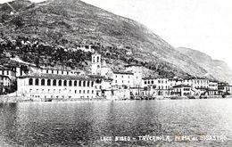 Autres Villes. Tavernola . Prima Del Disastro, Lago D'Iseo. - Autres Villes
