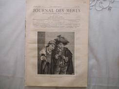 JOURNAL DES MERES N°15 1er AOUT 1881 LE MOULIN A VENT,LES PIGEONS,LE CHATEAU DE MONSEC,TOILETTES DE DAMES  16 PAGES - Livres, BD, Revues