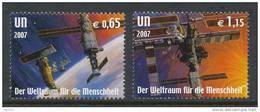 UN Vienna 2007 Michel # 518-519, MNH ** - Wien - Internationales Zentrum