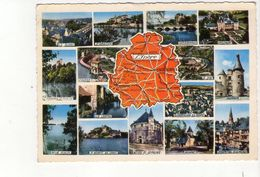 Cpm L Indre - Cartes Géographiques