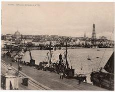 Nantes : Carte Double Format : Panorama Des Quais Et De La Ville (Coll. G.I.D. ) - Nantes