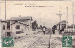 Saint Martin Du Mont La Gare (ligne PLM Bourg Ambérieu) 01 - France