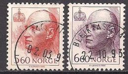 Norwegen  (1992)  Mi.Nr. 1086 + 1087  Gest. / Used  (6fi23) - Gebraucht