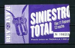 SINIESTRO TOTAL - Entradas A Conciertos