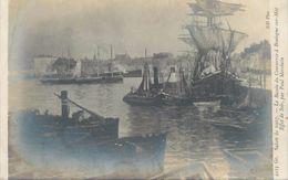 """CPA FRANCE 62 """"Boulogne, Le Bassin Du Commerce"""" - Boulogne Sur Mer"""
