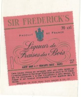 Liqueur De Fraise Des Bois Albert Robin - - Whisky