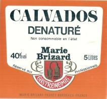 CALVADOS  Dénaturé (cuisine - RARE  )  Par Marie Brizard - - Whisky