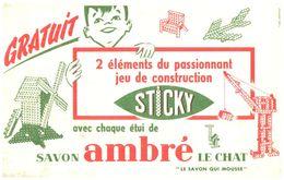 SA L C/ Buvard Savon Ambré Le Chat  (N= 1) - Blotters