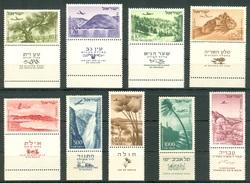 Israel - 1952, Michel/Philex No. : 80-86/138-139, - MVLH -  Full Tab - L@@K - Israel