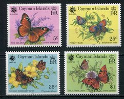 1990-CAYMAN ISL.- CPL.SET BUTTERFLYES M.N.H.- LUXE !! - Cayman Islands