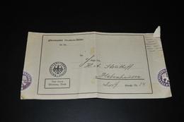 1414- Bescheid Finanzamt Bremen-Mitte - Alte Papiere