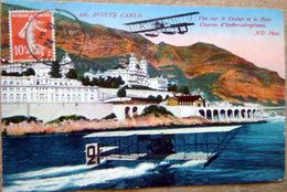 MONACO MONTECARLO COURSES D'HYDRO AEROPLANES - Monaco