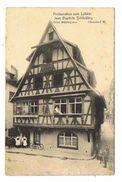 CPA 67 STRASBOURG Restauration Zum Lohkäs Jean Baptiste Schlickling - Strasbourg