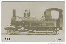 Isle Of Man - Steam Engine - Sutherland - Isle Of Man