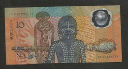 AUSTRALIA - RESERVE BANK Of AUSTRALIA - 10 Dollars (1998) / POLYMER - 1988 (10$ Polymeerbiljetten)