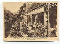 Aix-les-Bains - Hotel Beau-Site - Le Restaurant Terrasse - Old Modern-size Card - Francia
