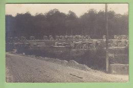 Carte Photo : POSTE Aux Armées, Autos Du Bureau Central Militaire Paris, Transit Poste Civile Et Militaire. TM 841 - Guerre 1914-18